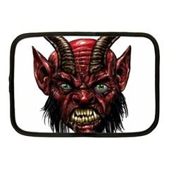 Krampus Devil Face Netbook Case (medium)