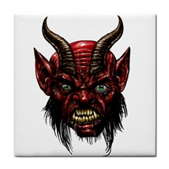 Krampus Devil Face Face Towel