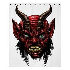 Krampus Devil Face Shower Curtain 60  X 72  (medium)
