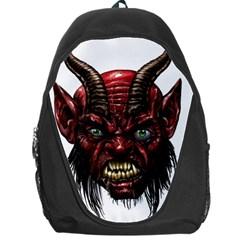 Krampus Devil Face Backpack Bag