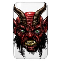 Krampus Devil Face Samsung Galaxy Tab 3 (8 ) T3100 Hardshell Case