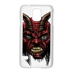 Krampus Devil Face Samsung Galaxy S5 Case (white)