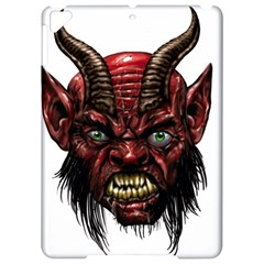 Krampus Devil Face Apple Ipad Pro 9 7   Hardshell Case
