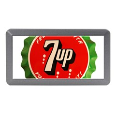 Fresh Up With  7 Up Bottle Cap Tin Metal Memory Card Reader (mini)