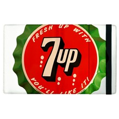Fresh Up With  7 Up Bottle Cap Tin Metal Apple Ipad 2 Flip Case