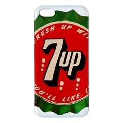 Fresh Up With  7 Up Bottle Cap Tin Metal Iphone 5s/ Se Premium Hardshell Case