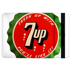 Fresh Up With  7 Up Bottle Cap Tin Metal Ipad Air 2 Flip