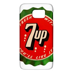 Fresh Up With  7 Up Bottle Cap Tin Metal Galaxy S6