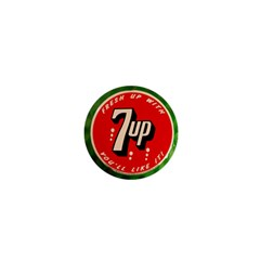 Fresh Up With  7 Up Bottle Cap Tin Metal 1  Mini Magnets