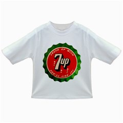 Fresh Up With  7 Up Bottle Cap Tin Metal Infant/toddler T Shirts