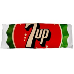 Fresh Up With  7 Up Bottle Cap Tin Metal Body Pillow Case Dakimakura (two Sides)