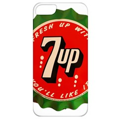 Fresh Up With  7 Up Bottle Cap Tin Metal Apple Iphone 5 Classic Hardshell Case