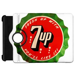 Fresh Up With  7 Up Bottle Cap Tin Metal Kindle Fire Hd 7