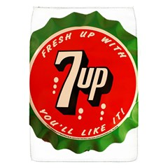 Fresh Up With  7 Up Bottle Cap Tin Metal Flap Covers (s)
