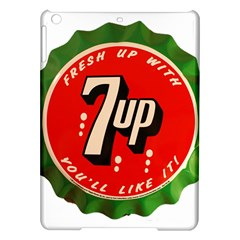 Fresh Up With  7 Up Bottle Cap Tin Metal Ipad Air Hardshell Cases