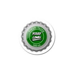 Fresh Taste Fizzy Lime Bottle Cap Golf Ball Marker