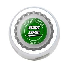 Fresh Taste Fizzy Lime Bottle Cap 4 Port Usb Hub (one Side)