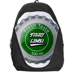 Fresh Taste Fizzy Lime Bottle Cap Backpack Bag