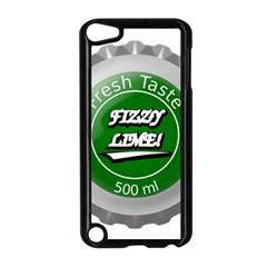 Fresh Taste Fizzy Lime Bottle Cap Apple Ipod Touch 5 Case (black)
