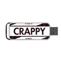 Reality Is Just A Crappy  Boring Game Portable Usb Flash (two Sides)