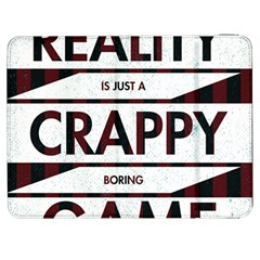 Reality Is Just A Crappy  Boring Game Samsung Galaxy Tab 7  P1000 Flip Case