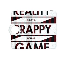 Reality Is Just A Crappy  Boring Game Kindle Fire Hdx 8 9  Flip 360 Case