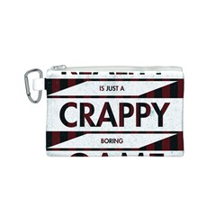 Reality Is Just A Crappy  Boring Game Canvas Cosmetic Bag (s)