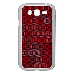 Classic Blocks,red Samsung Galaxy Grand Duos I9082 Case (white)