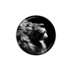 Male Lion Face Hat Clip Ball Marker (10 Pack)