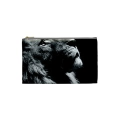 Male Lion Face Cosmetic Bag (small)