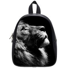 Male Lion Face School Bag (small)