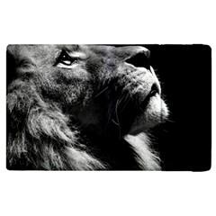 Male Lion Face Apple Ipad 3/4 Flip Case