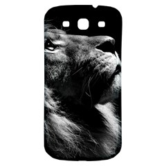 Male Lion Face Samsung Galaxy S3 S Iii Classic Hardshell Back Case