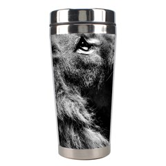 Male Lion Face Stainless Steel Travel Tumblers