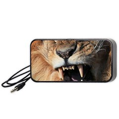 Male Lion Angry Portable Speaker