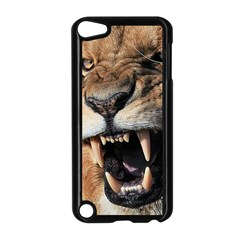 Male Lion Angry Apple Ipod Touch 5 Case (black)