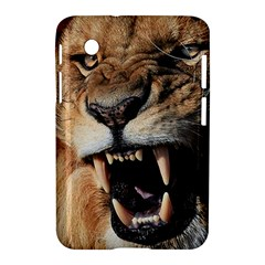 Male Lion Angry Samsung Galaxy Tab 2 (7 ) P3100 Hardshell Case