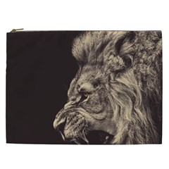Angry Male Lion Cosmetic Bag (xxl)