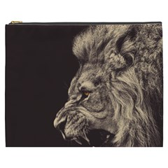 Angry Male Lion Cosmetic Bag (xxxl)