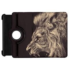 Angry Male Lion Kindle Fire Hd 7