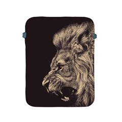 Angry Male Lion Apple Ipad 2/3/4 Protective Soft Cases