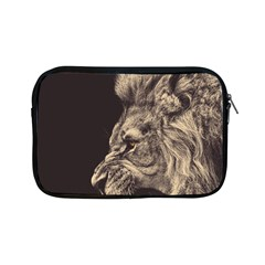 Angry Male Lion Apple Ipad Mini Zipper Cases