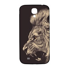 Angry Male Lion Samsung Galaxy S4 I9500/i9505  Hardshell Back Case