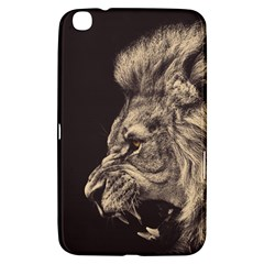 Angry Male Lion Samsung Galaxy Tab 3 (8 ) T3100 Hardshell Case