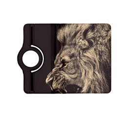 Angry Male Lion Kindle Fire Hd (2013) Flip 360 Case