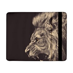 Angry Male Lion Samsung Galaxy Tab Pro 8 4  Flip Case