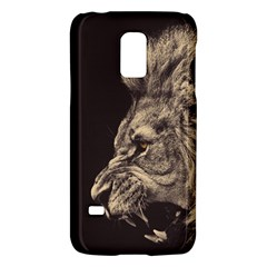 Angry Male Lion Galaxy S5 Mini