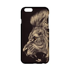 Angry Male Lion Apple Iphone 6/6s Hardshell Case
