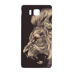 Angry Male Lion Samsung Galaxy Alpha Hardshell Back Case