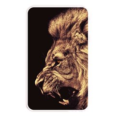 Angry Male Lion Gold Memory Card Reader